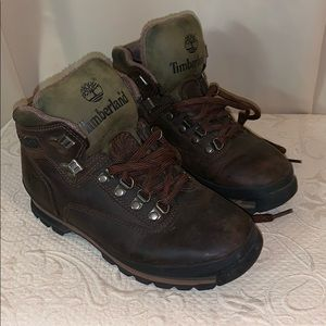 Vintage 1990s Hiking Boots
